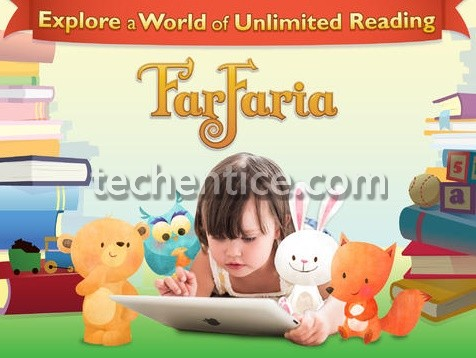 Farfaria the best children story collection app available for iOS