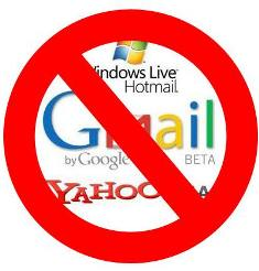 Govt to ban Gmail
