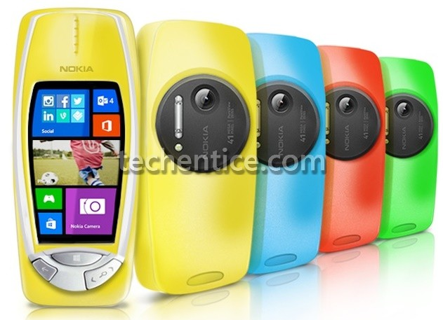 Behold, the Nokia 3310 Windows Phone with 41MP camera