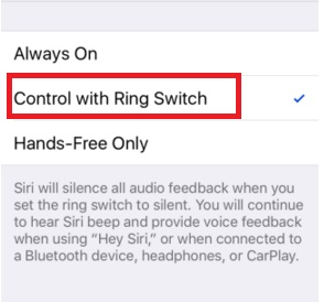 ring switch