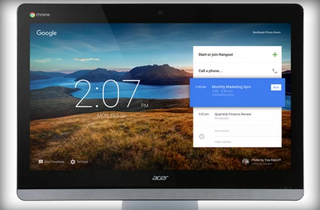 Google and Acer making 24-inch Chromebase for meetings