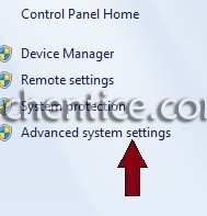 Advanced System Settings