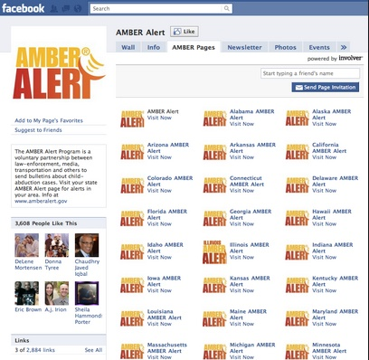 Facebook launches Amber Alerts to help rescue missing children