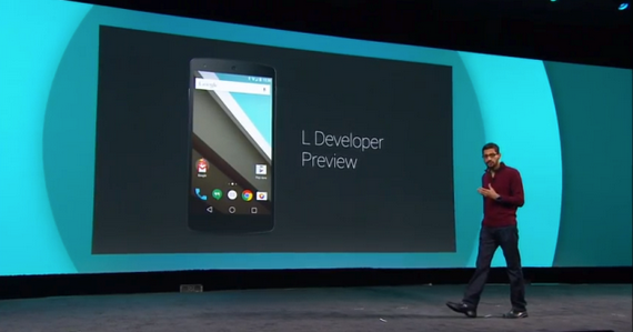 Android L beta: a new look with new features