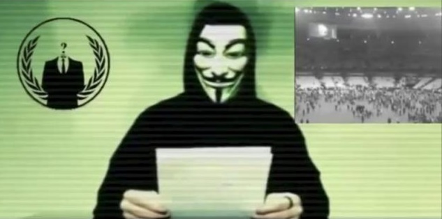 Anonymous Hackers declare war on ISIS after the Paris massacre