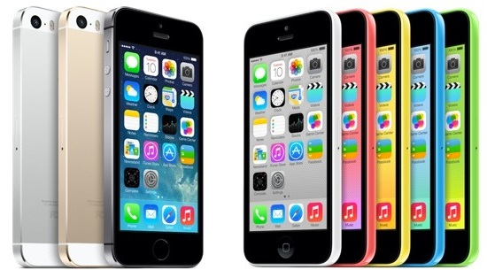 apple iphone 5s iphone 5c