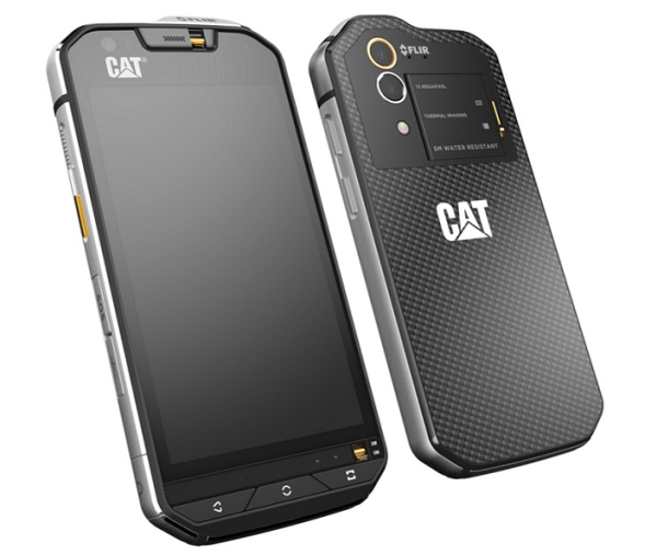 Cat S60 smartphone: First ever phone with thermal camera at MWC '16