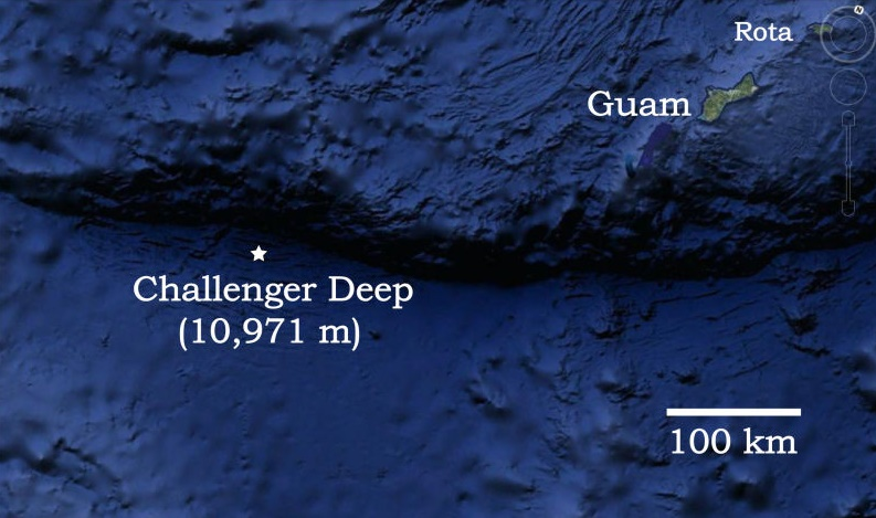 Mariana Trench and Challenger Deep