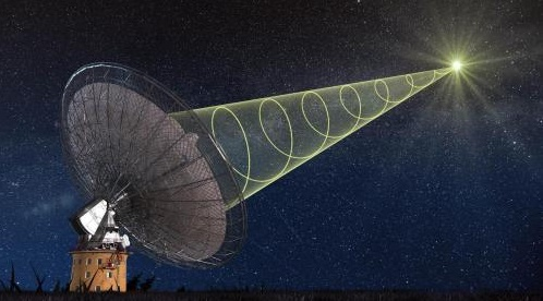 Huge cosmic radio burst captured in real time for the first time ever