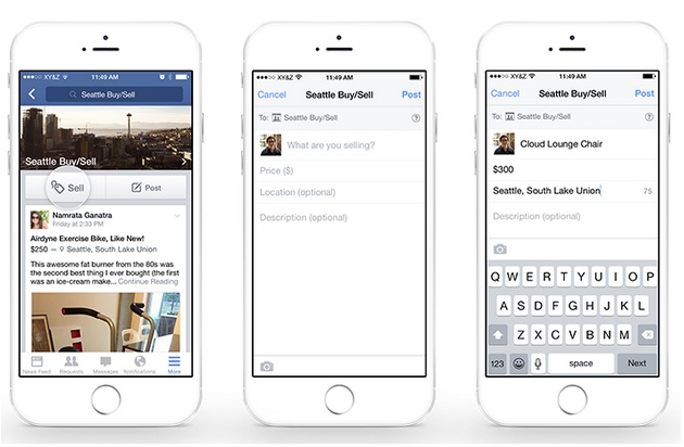 Facebook adds new feature A more easier way to trade in For Sale Group