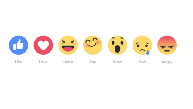 Facebook Reaction button helps you express beyond Likes