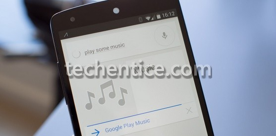 Just ask Google Now on Android to play some music if you can't choose yourself