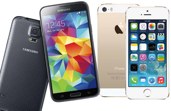 Comparative review of Samsung Galaxy S5 fingerprint scanner and iPhone 5s Touch ID