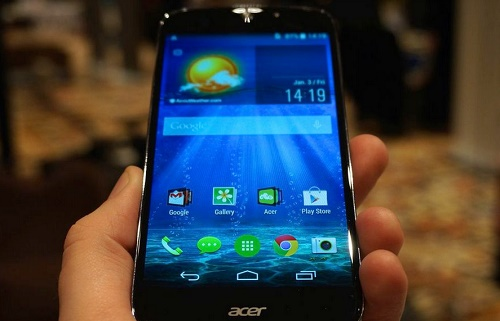 Acer launching the 64-Bit Liquid Jade S Smartphone