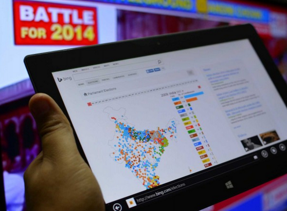 Microsoft partnered Network18 to bring India Elections hub to Bing