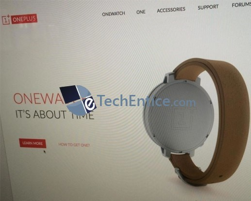 OneWatch - the rumored smartwatch of OnePlus