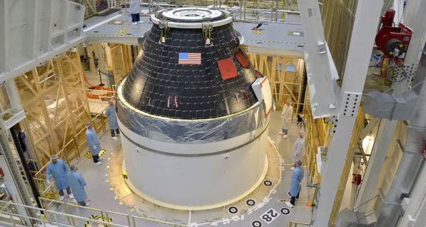 Scientists giving final touch for NASA's Orion Spacecraft