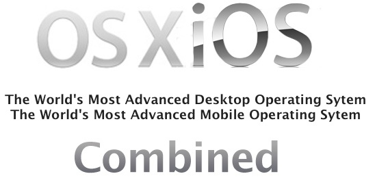 Merging of iOS and OSX