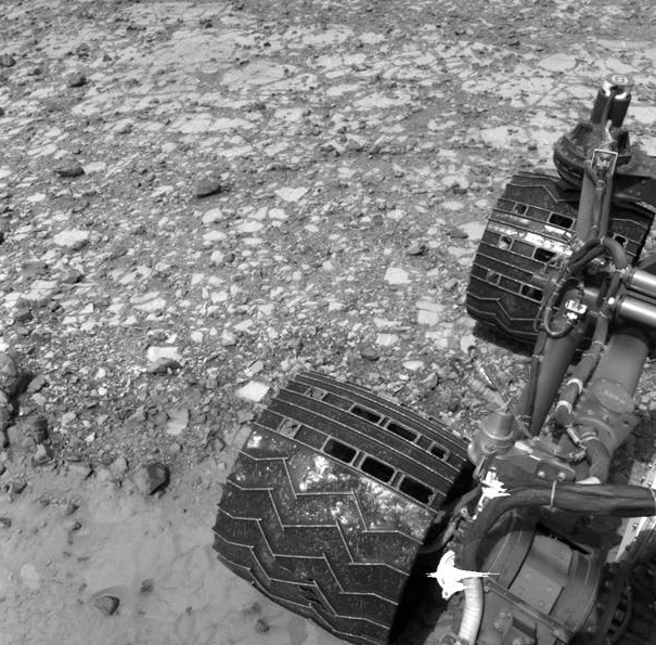 Rocks rich in silica creates new enigma for the Mars Curiosity Rover Team