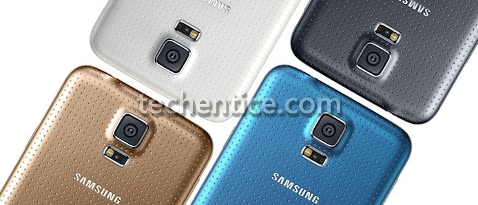 Samsung Galaxy S5 :  a closer view