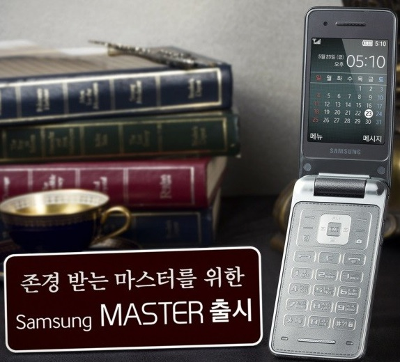 Samsung brings back clamshell smartphone Master only in S. Korea
