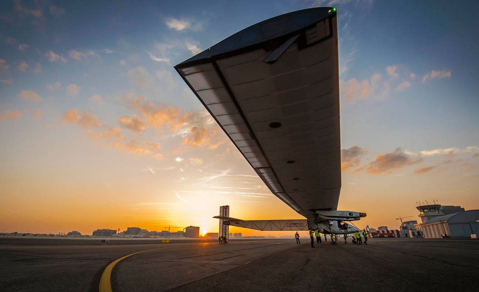 Around the world in a Solar Plane