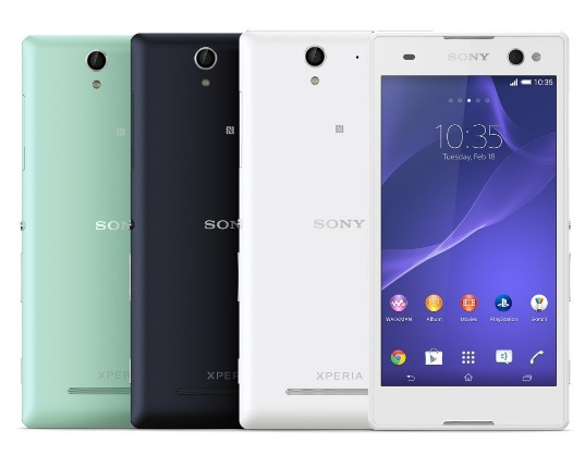 The amazing Selfie Phone: Sony Xperia C3