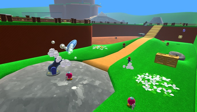 Super Mario 64 comes for browser with HD quality