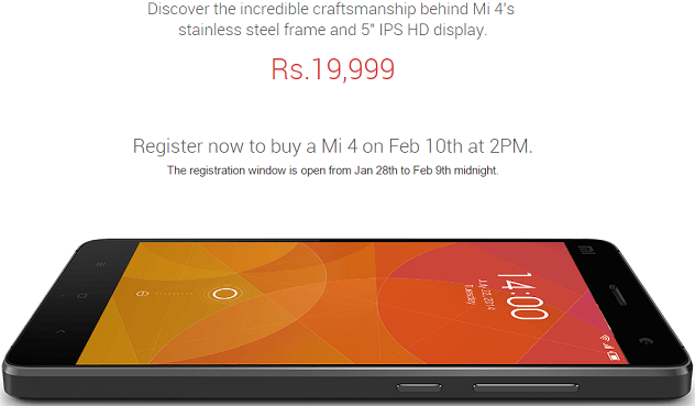 Is it worth buying Xiaomi Mi4 in India