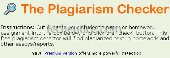 Free Plagiarism Checker | PaperRater