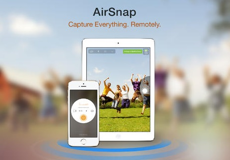 AirSnap- the story of selfies retold by iOS