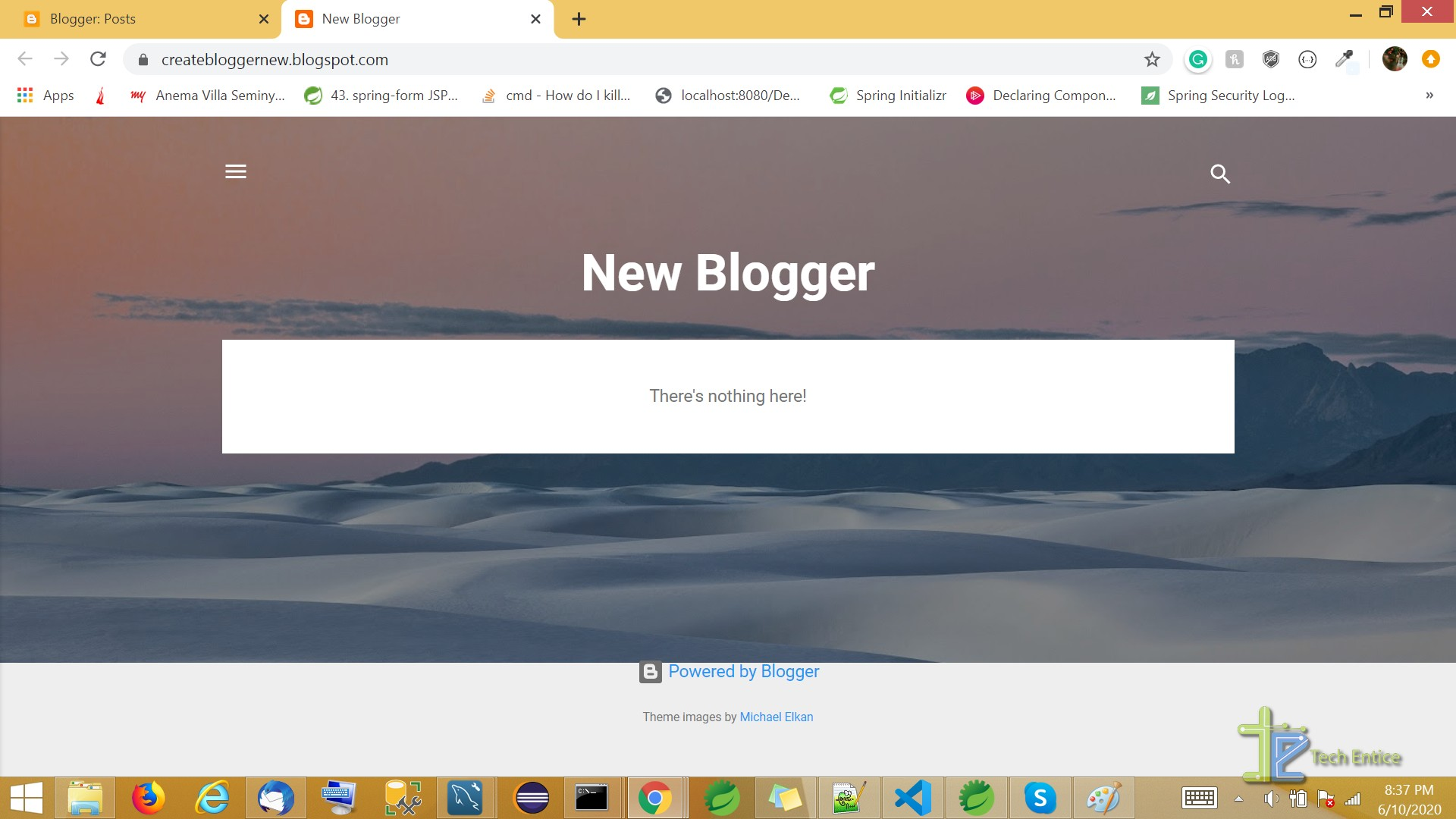 How To Create An Account On Blogger