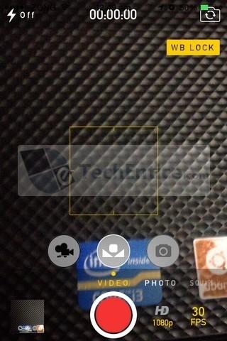CameraTweak Video mode