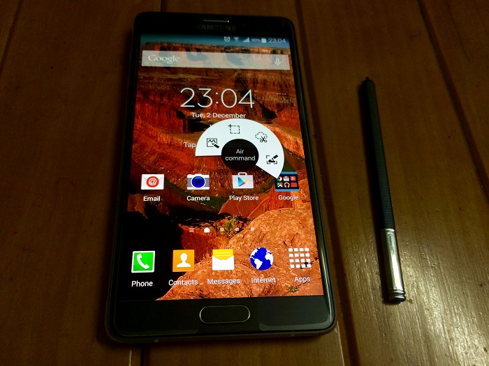 Galaxy Note 4 S pen