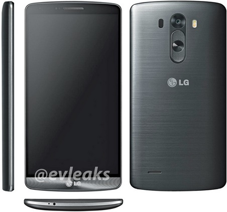 Size and specs of upcoming LG G3 leaked