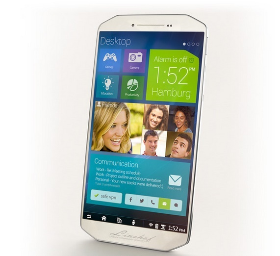 Linshof i8: A German phone with Android OS and interface of Windows Phone