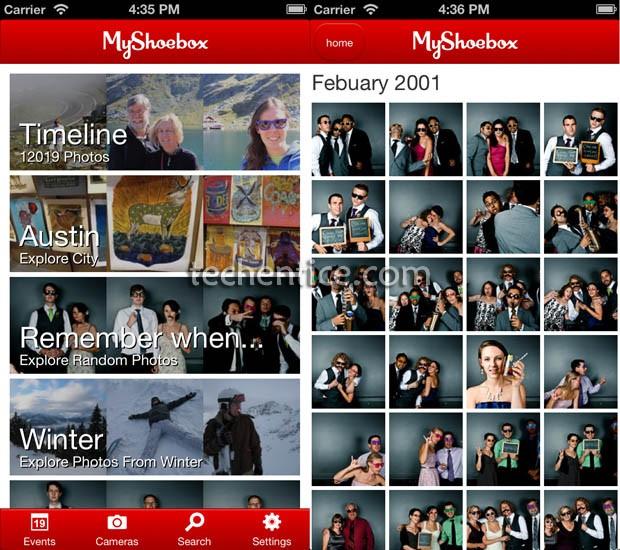MyShoeBox in iOS