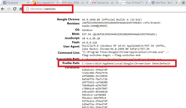 How To Find The User Folder For A Specific Chrome Profile