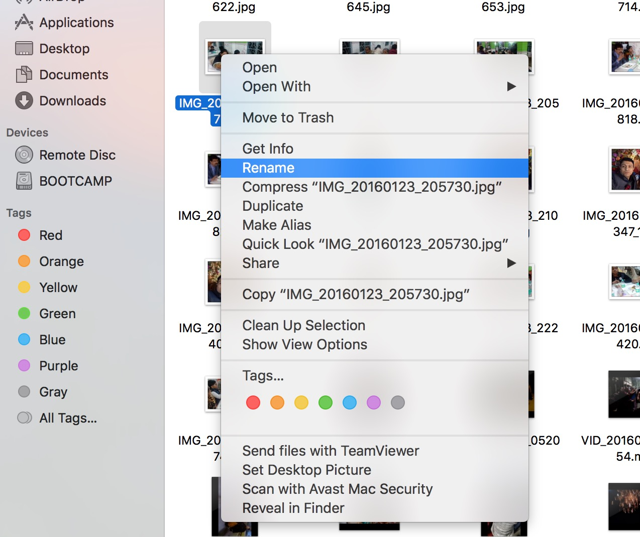 Check out some popular ways to rename a file in OSX