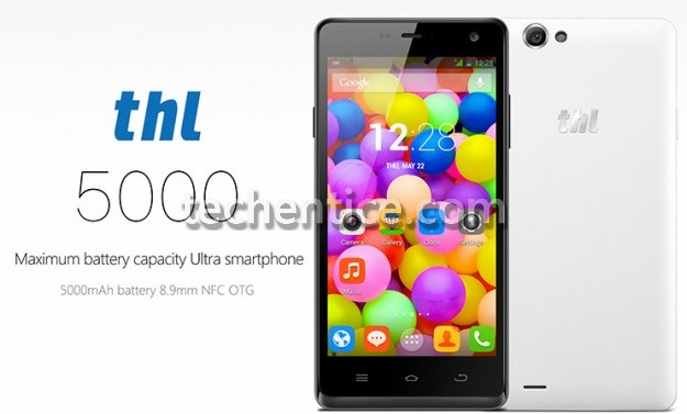 THL smartphone to arrive with 5000mAh battery