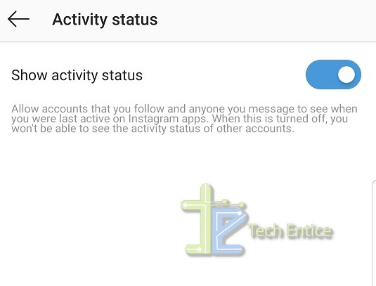 How To Hide Your Activity Status In Instagram?