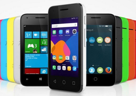 Alcatel Pixi 3 :The smartphone which can run Android, Windows, Or Firefox OS