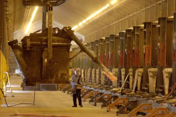 emissions from aluminium smelting