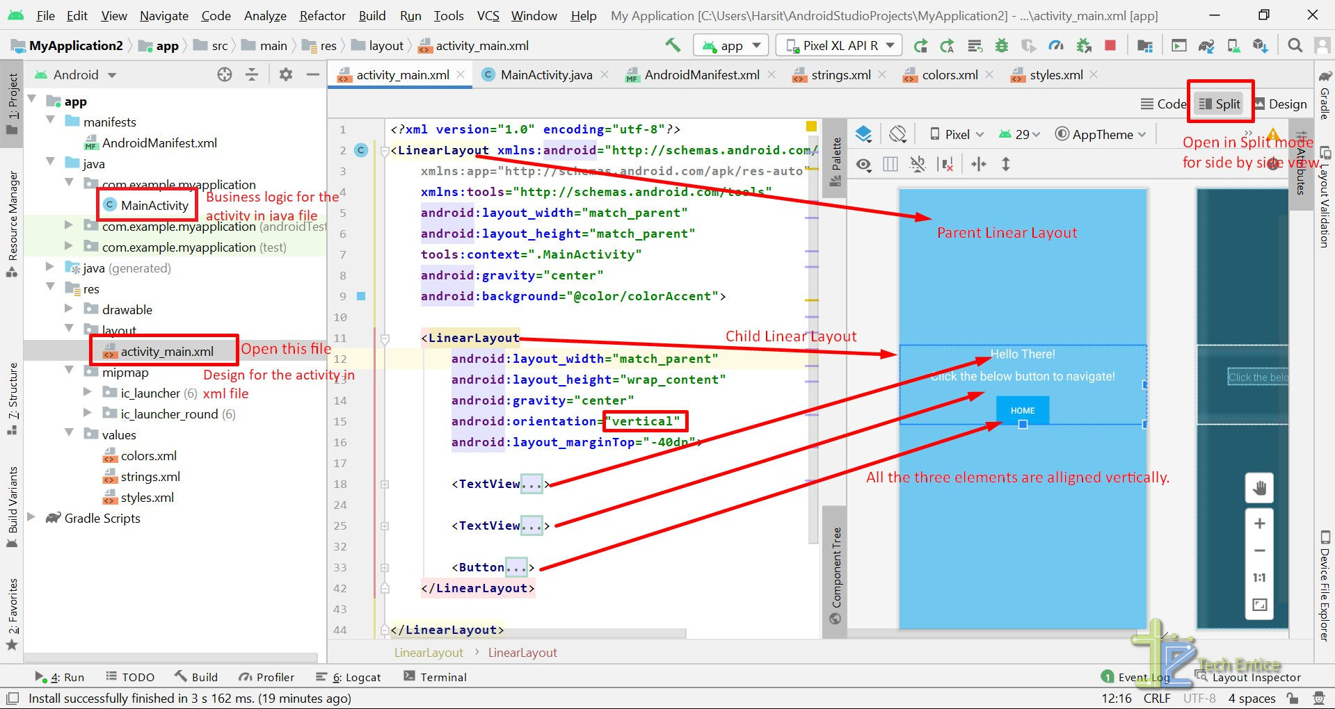 Explore IDE, Code Editor With Android Studio On Windows OS