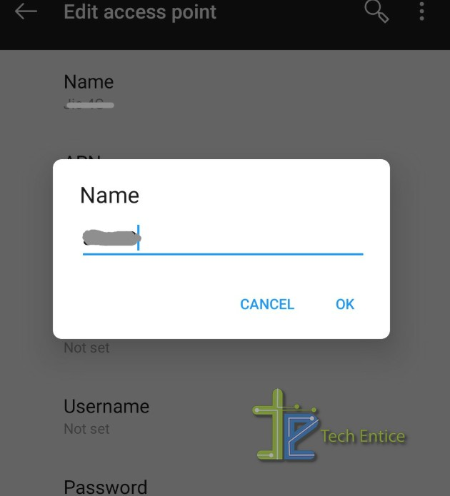 Change The APN Services on Android phone