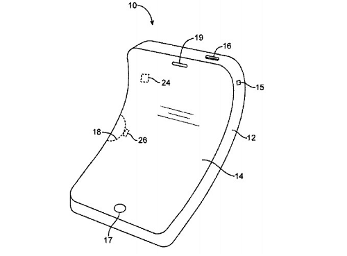 New patent shows Apple is working on flexible iDevices