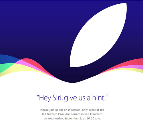 Apple sends out invitation for a new event on September 9 What can we expect