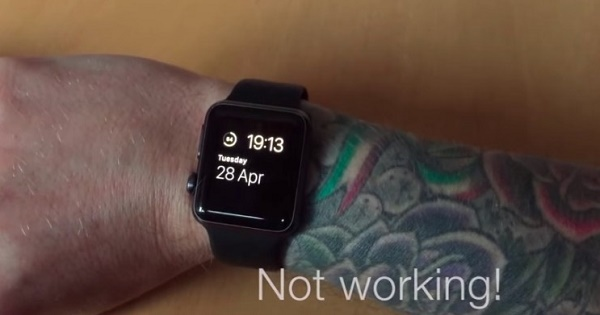 Tattooed users getting bad readings on their Apple Watch heart sensors
