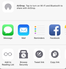 Browsecurely lets you add Do Not Track Browsing in Any iOS App