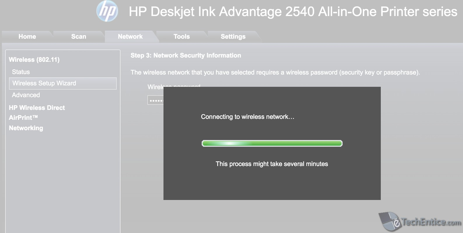 How to setup HP Deskjet Wireless Printer or any Wireless